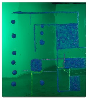 9 Songs / Geometric Abstraction 2 / Theodore and Epping by Dale Frank contemporary artwork