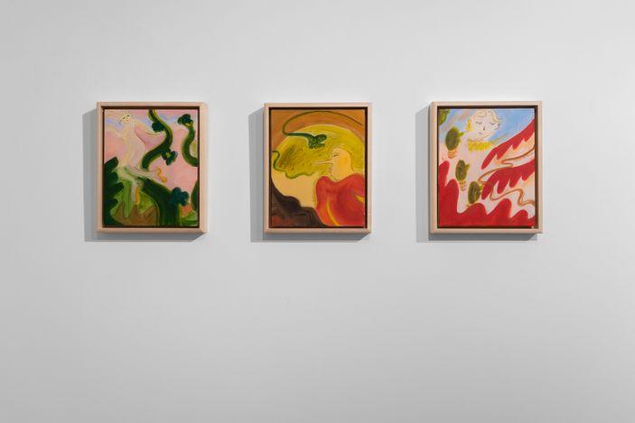 Exhibition view:Yulia Iosilzon,Fanfarria, Huxley-Parlour, London (23 February–27 March 2021). Courtesy Huxley-Parlour.