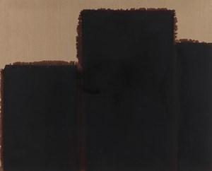 Burnt Umber & Ultramarine Blue by Yun Hyong-keun contemporary artwork