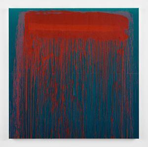 Considering Rothko #7 by Pat Steir contemporary artwork