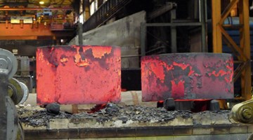 Contemporary art exhibition, Richard Serra, Forged Rounds at Gagosian, 555 West 24th Street, New York