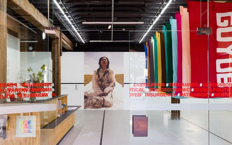Exhibition view: 52 ARTISTS 52 ACTIONS, Artspace, Sydney (18 May–4 August 2019). Photo: Docqment.