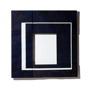 White Square with Light Green by Young-Rim Lee contemporary artwork
