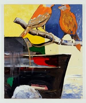 Untitled (Krieg böse) by Martin Kippenberger contemporary artwork