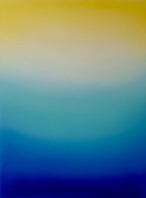 (Lemon Yellow, Turquoise Green & Ultramarine Blue) by Jamie Teo Si Ru contemporary artwork