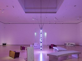 Jenny Holzer's piercing beacons of truth light up Guggenheim Museum Bilbao