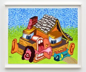 Home Sweet Home by Peter Saul contemporary artwork