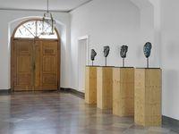4 Masken by Günther Förg contemporary artwork sculpture