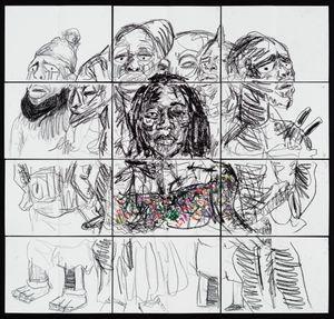 Christine Kitenge by Pierre Mukeba contemporary artwork