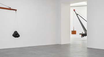 Contemporary art exhibition, Chris Burden, Measured at Gagosian, Britannia Street, London
