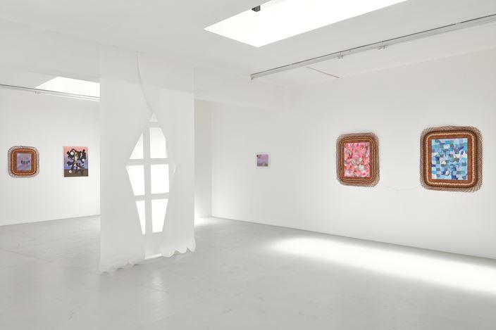 Exhibition view:Fernanda Laguna, I want to be an International Artist Curated by Ines Dahn, Campoli Presti, London (27 June–15 September 2018). Courtesy Campoli Presti.