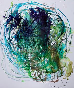 Portrait #3 (Joan) by Jackie Saccoccio contemporary artwork