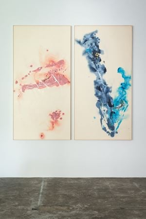 Untitled (2 parts) by Ryuji Tanaka contemporary artwork