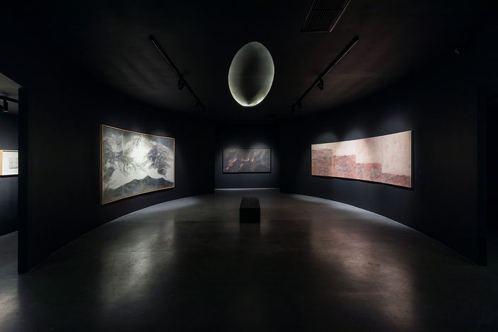 Exhibition view:Wang Shaoqiang, If Two, Then One: Wang Shaoqiang Solo Exhibition,Asia Art Center, Beijing (24 July–12 September 2021). CourtesyAsia Art Center.