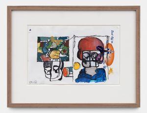 Untitled by Eddie Martinez contemporary artwork works on paper