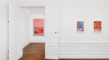 Contemporary art exhibition, Harland Miller, Harland Miller   The French Letter Paintings at White Cube, Paris, France