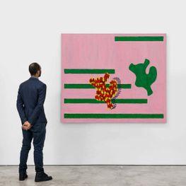 Jonathan Lasker contemporary artist