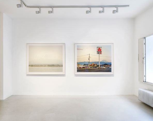 Exhibition view:Robert Voit, Aequilibrium, Galerie—Peter—Sillem, Frankfurt (11 March–22 May 2021). Courtesy Galerie—Peter—Sillem.