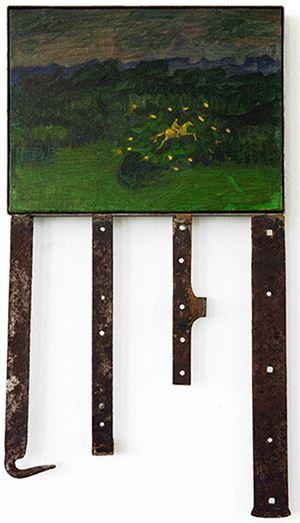 Selva/Rumore di fondo by Mimmo Paladino contemporary artwork
