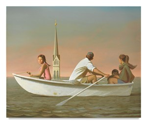 The Flood by Bo Bartlett contemporary artwork