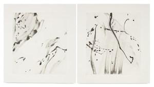 Untitled I, II by Jason Martin contemporary artwork