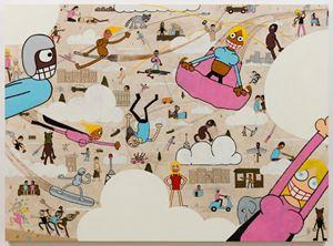 Nyx by Jay Stuckey contemporary artwork painting, drawing