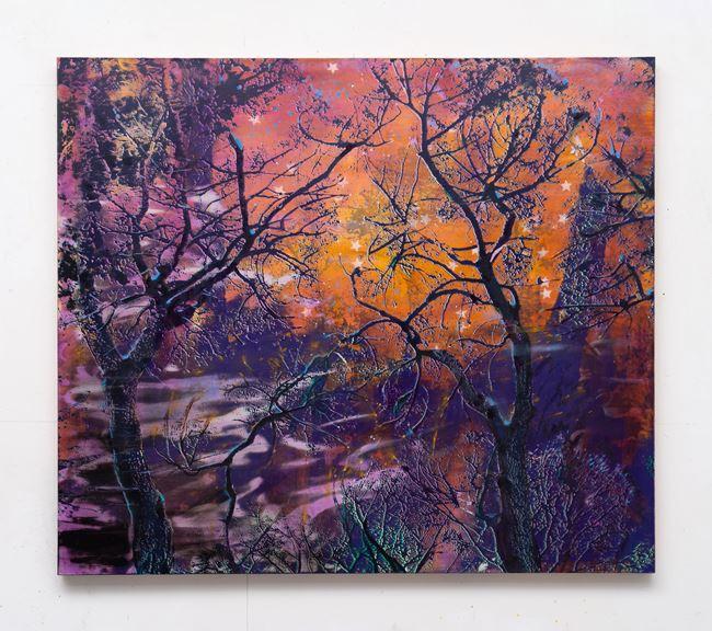 The sky was all orange (2) by Elizabeth Magill contemporary artwork