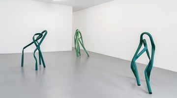 Contemporary art exhibition, Bettina Pousttchi, Allee at Buchmann Galerie, Buchmann Box, Berlin