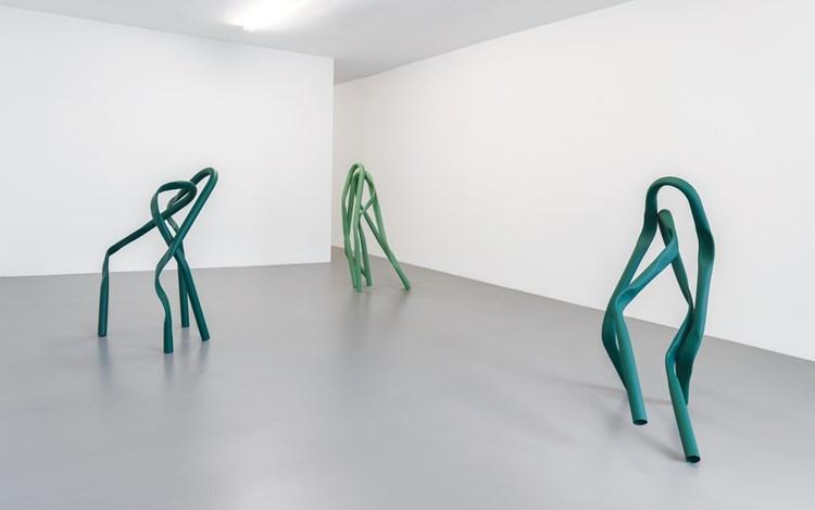 Exhibition view: Bettina Pousttchi,Buchmann Box, Berlin (27 April–23 June 2018). Courtesy Buchmann Galerie.