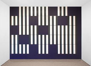 Unexpected Variable Configurations: A Work in Situ by Daniel Buren contemporary artwork