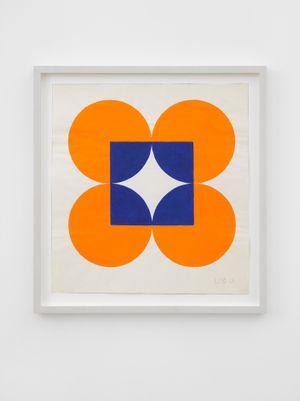 Untitled by Leon Polk Smith contemporary artwork