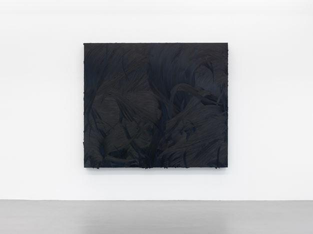 Jason Martin, Ruhollah(2014). Exhibition view: Jason Martin,Vertigo,Buchmann Galerie, Berlin (28 September–3 November 2018). Courtesy Buchmann Galerie.