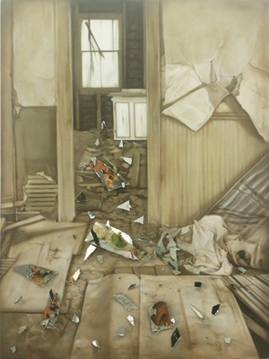 The Depth of Divine Despair by Arturo Sanchez Jr. contemporary artwork