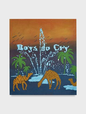 Untitled (Boys Don't Cry) by Joel Mesler contemporary artwork