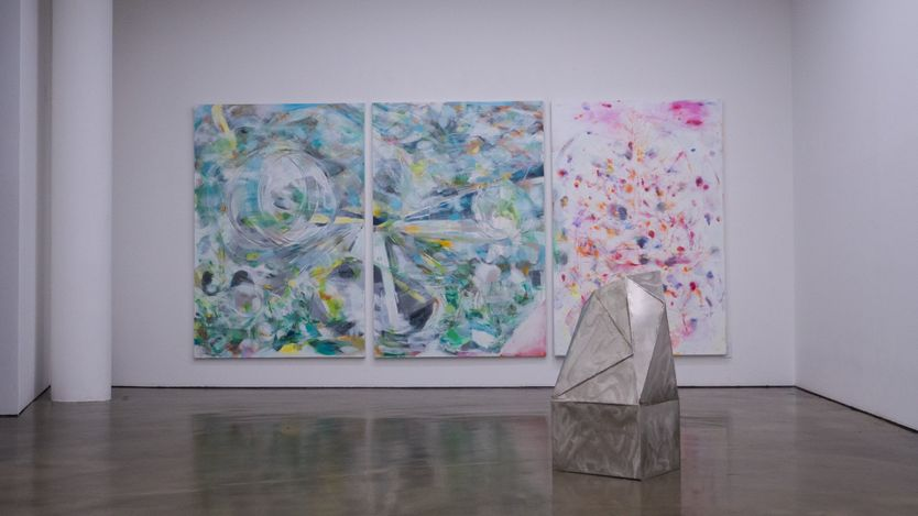 Exhibition view: Hojin Lee,변곡섬 Island of Inflection, Gallery Chosun, Seoul (5–28 August 2021). Courtesy Gallery Coshun.