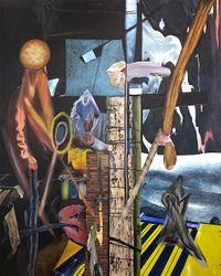 Random Numbers by Rodel Tapaya contemporary artwork painting