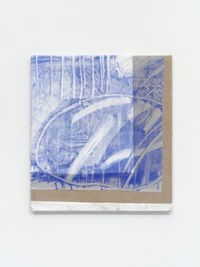 Nu by Emma Løkke contemporary artwork painting, textile