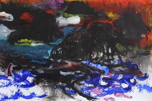 Ruthless Waves I by Jagath Weerasinghe contemporary artwork