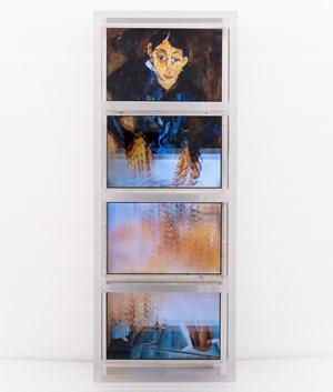 100 Years in 1 Minute (Chaim Soutine, Zhao Wuji) by Hu Jieming contemporary artwork