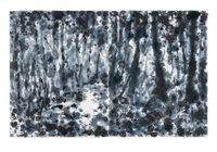 Light in the forest 1 by Shinro Ohtake contemporary artwork painting