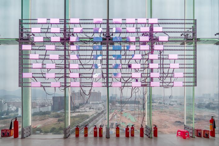 Exhibition view: Modes of Encounter: An Inquiry, Guangdong Times Museum (13 December 2019–16 February 2020). Courtesy Guangdong Times Museum.