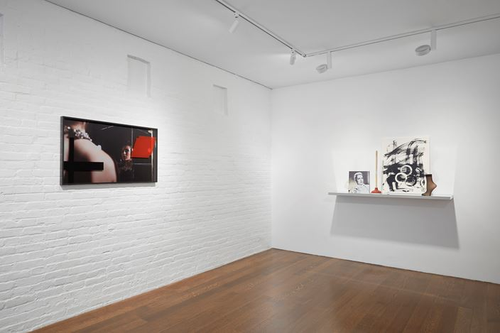 Exhibition view: Josephine Meckseper, On View, Timothy Taylor, New York (11 July–28 July 2017). © Josephine Meckseper. Courtesy Timothy Taylor, New York.