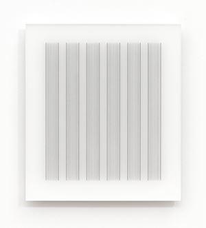Acrylic piece 2012-6 by Hadi Tabatabai contemporary artwork