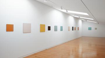 Contemporary art exhibition, Simon Morris, Colour follows light, light follows colour at Two Rooms, Auckland