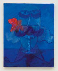 Blue Goblet by Joshua Petker contemporary artwork painting