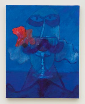 Blue Goblet by Joshua Petker contemporary artwork