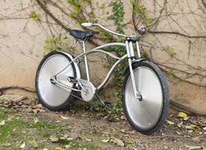 Bike by Ann Veronica Janssens contemporary artwork