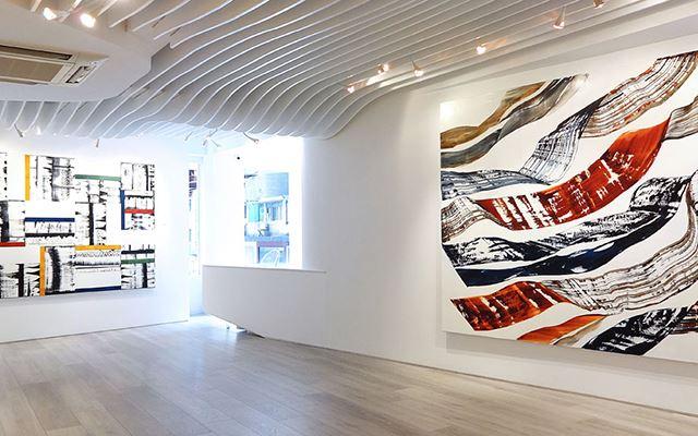 Exhibition view: Ricardo Mazal,Kailash: Black Mountain, Sundaram Tagore Gallery, Hong Kong (27 March–3 May 2014). Courtesy Sundaram Tagore Gallery.