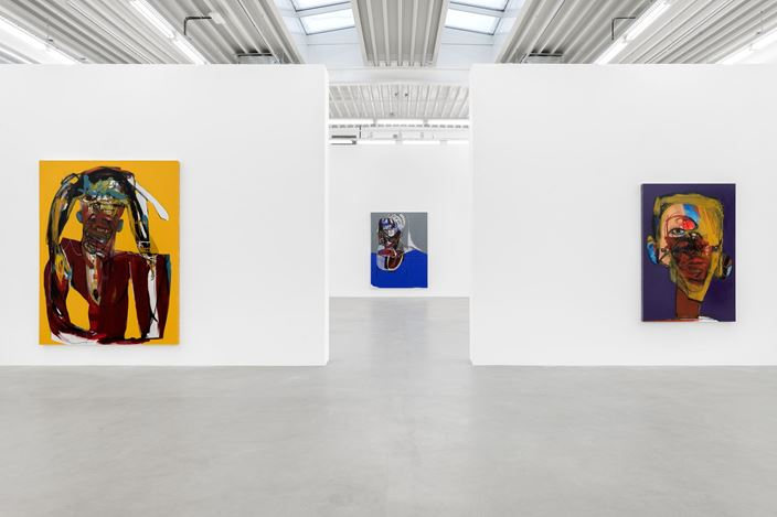 Exhibition view: Genesis Tramaine, Evidence of Grace, Almine Rech, Brussels (7 January–28 February 2021). Courtesy the Artist and Almine Rech.