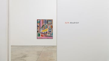 Contemporary art exhibition, Tal R, Altstadt Girl at Cheim & Read, 547 W 25th St, New York, USA